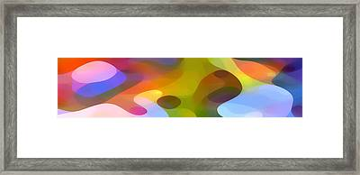 Dappled Light Panoramic 2 Framed Print