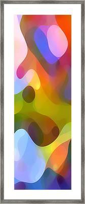 Dappled Light Panoramic Vertical 3 Framed Print