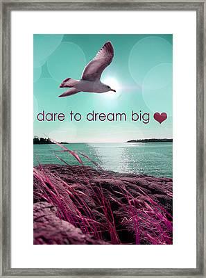 Dara To Dream Big  Framed Print by Mark Ashkenazi