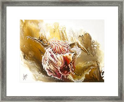 Dare Framed Print by Karina Llergo