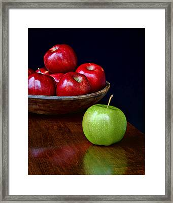 Dare To Be Different #2 Framed Print by Nikolyn McDonald