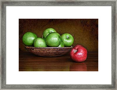 Dare To Be Different 3 Framed Print