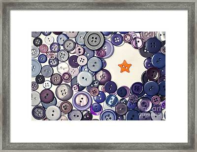 Dare To Be Different Framed Print by Catherine MacBride