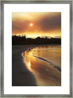 Dare To Shine Framed Print