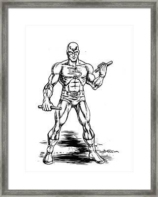 Daredevil Framed Print by John Ashton Golden