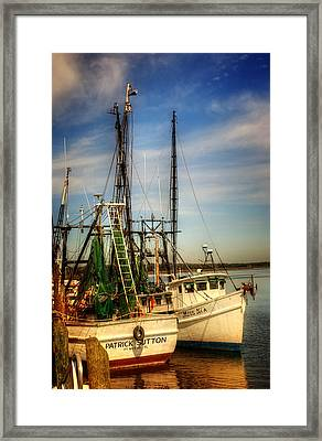 Darien Days Framed Print