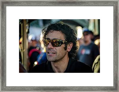 Dario Franchitti Framed Print by David Morefield