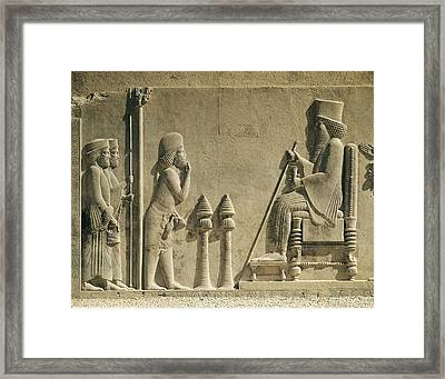 Darius I The Great 550 Bc-486bc Framed Print by Everett