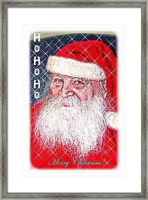 Darius Merry Christmas Framed Print by Randall Branham