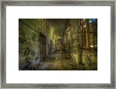 Dark And Creepy Framed Print by Nathan Wright