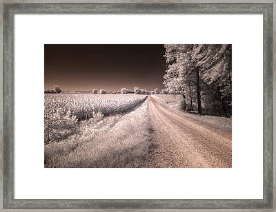 Dark And Dusty Painted On The Sky Framed Print