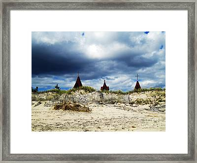 Dark And Stormy Framed Print