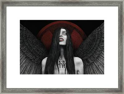 Dark Angel Framed Print by Pat Erickson