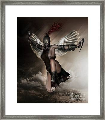 Dark Angel Framed Print by Shanina Conway