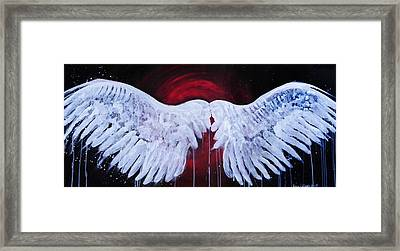 Dark Angel Framed Print by Stacey Pilkington-Smith