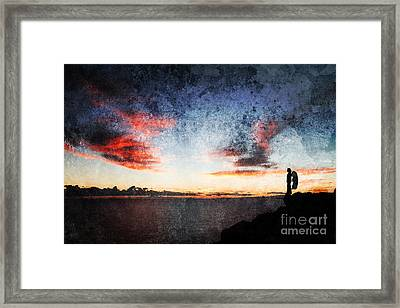Dark Angel Framed Print by Stelios Kleanthous