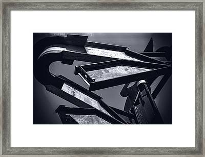 Framed Print featuring the photograph Dark Beams by Michael Hope