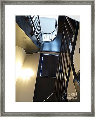 Framed Print featuring the photograph Dark Before The Light by Newel Hunter