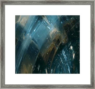 Dark City Framed Print