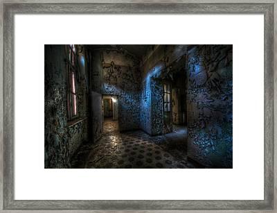 Dark Corner Framed Print by Nathan Wright