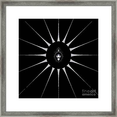 Dark Crest Framed Print by Maurice King