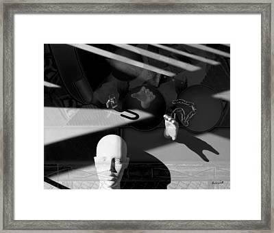 Dark Cut Framed Print