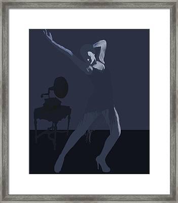 Dark Dancer Framed Print