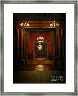 Dark Dreams Framed Print by Mary Machare