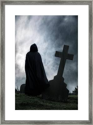 Dark Figure Framed Print by Joana Kruse