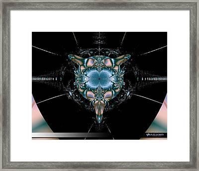 Dark Fractal II Framed Print