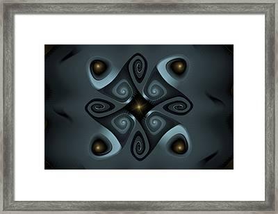 Dark Gnarls And Dim Lights Framed Print