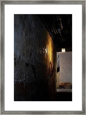 Secret Passage Framed Print by Nadalyn Larsen