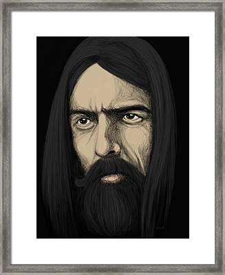 Dark Horse Framed Print by Kris Milo