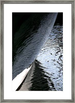 Dark Hull Framed Print