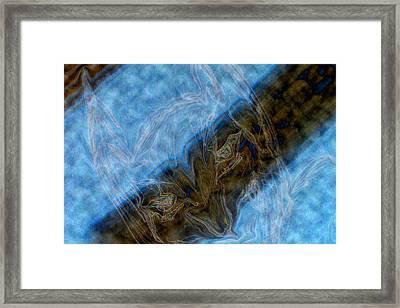 Dark Knight Rises Abstract II Framed Print by Bill Owen