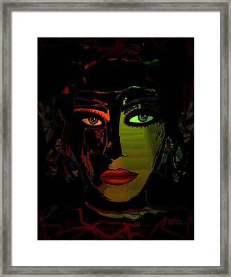 Dark Mystery Framed Print by Natalie Holland