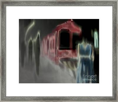 Dark Passengers Framed Print