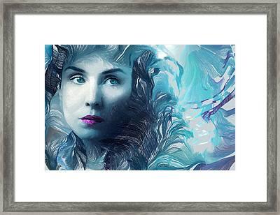 Dark Passion Framed Print by Marina Likholat