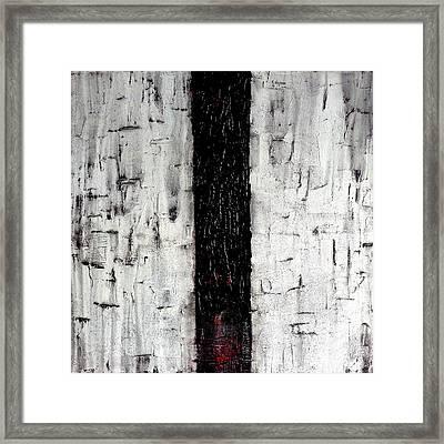Dark Path Framed Print