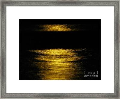 Dark Pool Framed Print by Tyler Ash