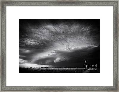 Dark Prairie Framed Print