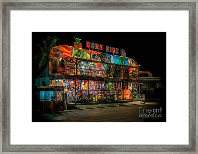 Dark Ride Framed Print by Adrian Evans