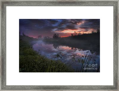 Dark River Framed Print