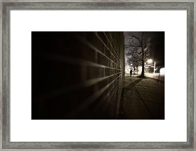 Dark Road Framed Print by Emmanouil Klimis
