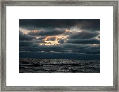 Dark Sea Framed Print