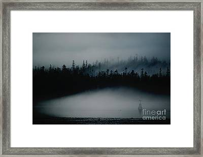 Dark Sfumato Framed Print