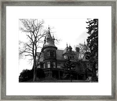 Dark Shadows Framed Print by Penny Hunt