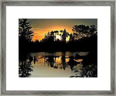 Dark Shadows Framed Print by Suzy Piatt