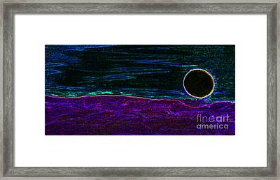 Dark Side Of The Moon By Jrr Framed Print by First Star Art