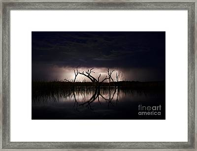 Dark Skies Framed Print